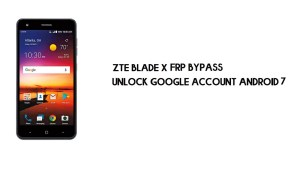 ZTE Blade X FRP Bypass Without PC | Unlock Google – Android 7.1.1