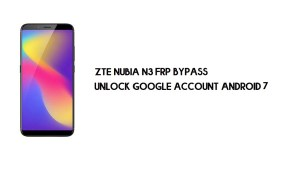 ZTE Nubia N3 FRP Bypass Without PC | Unlock Google – Android 7.1