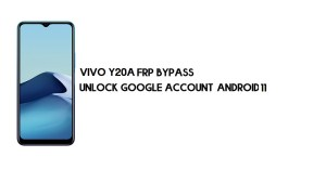 Vivo Y20A FRP Bypass Without PC | Unlock Google – Android 11 (latest)