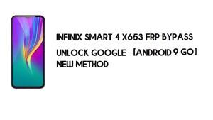 Infinix Smart 4 X653 FRP Bypass No PC | Unlock Google – Android 9 Go
