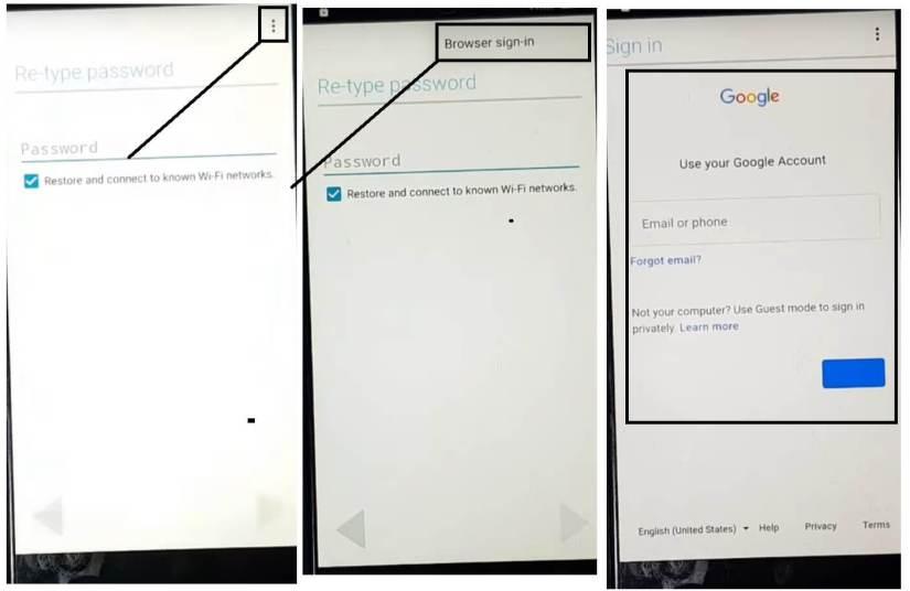 Coolpad/Condor/Neffos FRP Bypass Unlock/ Remove Google