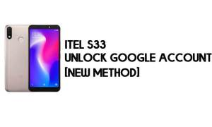 Itel S33 FRP Bypass - Unlock Google Account – Android 8.1 Go for Free
