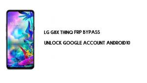 LG G8X ThinQ FRP Bypass Without Computer | Unlock Google Android 10