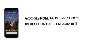 Google Pixel 3a XL FRP Bypass Without Computer | Unlock Android 11