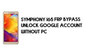 Symphony I65 FRP Bypass - Unlock Google Account – (Android 8.1 Go)