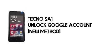 Tecno SA1 FRP Bypass   Unlock Google Account – Android 8 (Go) Free