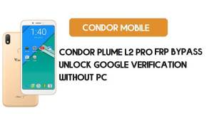 Condor Plume L2 Pro FRP Bypass Without PC – Unlock Google (Free)