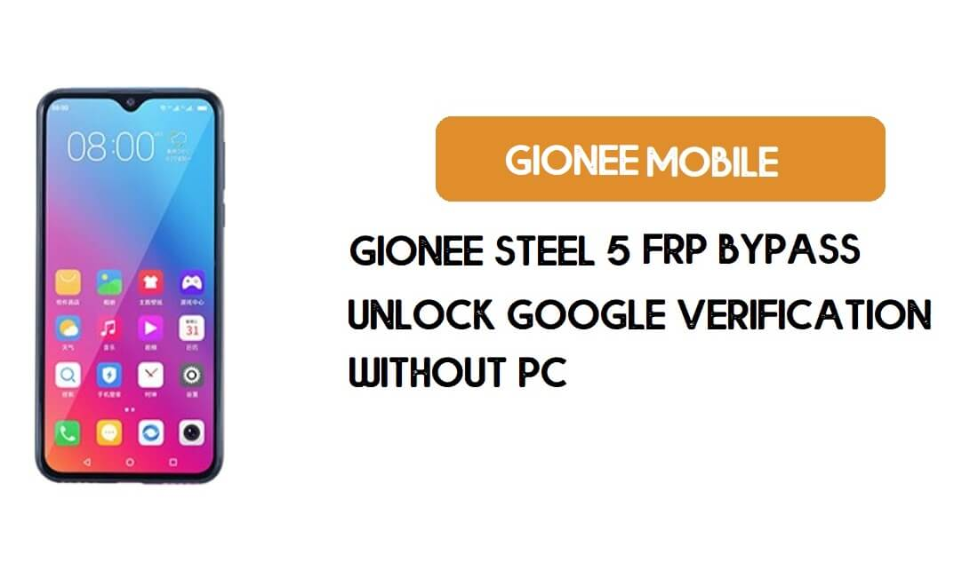 Gionee Steel 5 FRP Bypass Without PC - Unlock Google [Android 9.0] free