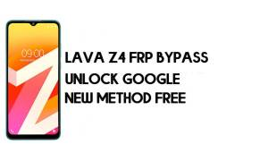 Lava Z4 FRP Bypass Without PC | Unlock Google Account – Android 10
