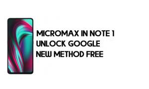Micromax In note 1 FRP Bypass Without PC - Unlock Google – Android 10