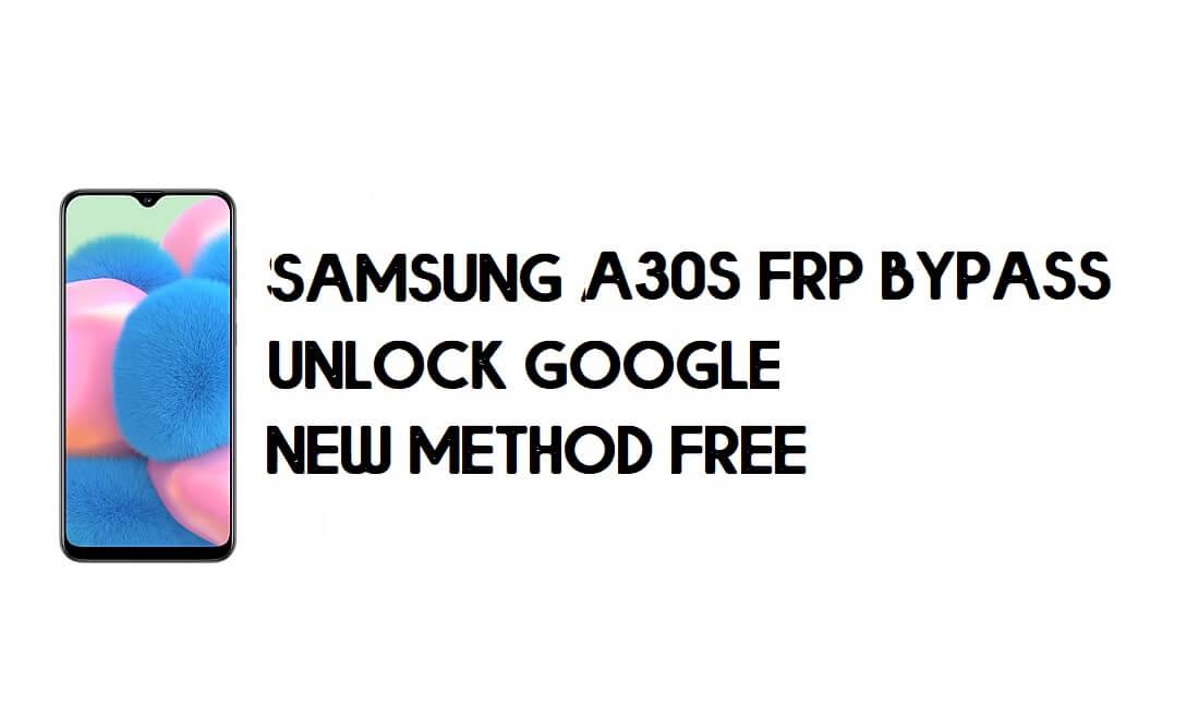 Samsung Galaxy A30s FRP Unlock - Bypass Google [Final Method] No PC