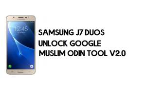 Samsung J7 Duos FRP Bypass - Unlock With Muslim Odin Tool [Android 8]