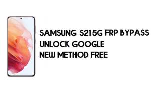 Samsung S21 5G FRP Bypass Android 11 - Unlock Google [New Method]
