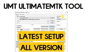 UMT UltimateMTK Tool v4.0 Latest Setup – One Click (FRP/Flash/Remove Screen Lock) Tool for MediaTek