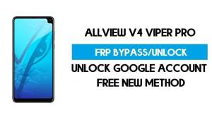 Allview V4 Viper Pro FRP Bypass Android 9.0 Without PC - Unlock GMAIL