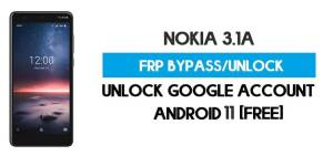 Nokia 3.1A FRP Bypass – Unlock Google GMAIL Lock [Android 9] Free New Method (Without PC)