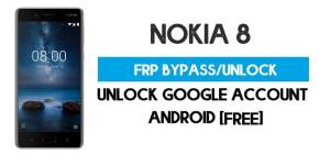 Unlock FRP Nokia 8 – Bypass Google Account [Android 9] Free New Method (Without PC)