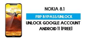 Nokia 8.1 FRP Bypass – Unlock Google Account [Android 11] Free New Method (Without PC)