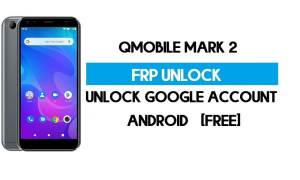 QMobile Mark 2 FRP Bypass without PC - Unlock Google Account for Free