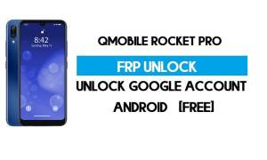 QMobile Rocket Pro FRP Bypass – Unlock Google Verification (Android 9.0 Go) [Without PC]