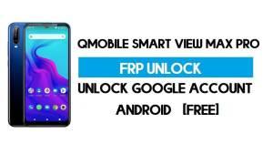 QMobile Smart View Max Pro FRP Bypass No PC – Unlock Google Free