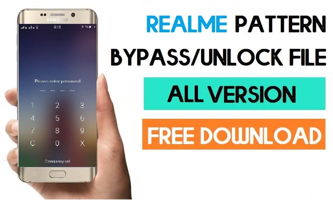 Realme MTK Pattern Unlock Files – Latest Free Download (All Models)