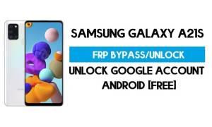 Unlock FRP Samsung Galaxy A21s (Bypass SM-F415F Google GMAIL)