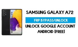 Unlock FRP Samsung Galaxy A72 (Bypass SM-A725F Google GMAIL Verification) Android 11 R With Muslim Odin Tool