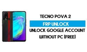 Tecno Pova 2 FRP Bypass Without PC – Unlock Google Android 11 (Free)