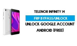 Telenor Infinity I4 FRP Bypass Without PC – Unlock Google Android 9