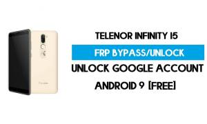 Telenor Infinity i5 FRP Bypass Without PC – Unlock Google Android 9