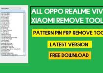All OPPO Realme Vivo Xiaomi Remove Tool – Pattern Pin FRP Remove Tool Latest 2021