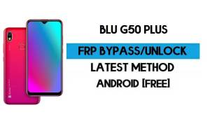 BLU G50 Plus FRP Bypass Without PC - Unlock Google Gmail Android 10