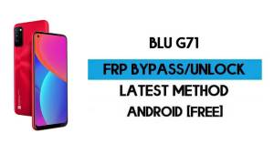 BLU G71 FRP Bypass Without PC - Unlock Google Gmail lock Android 10