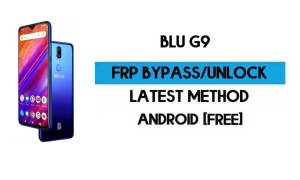 BLU G9 FRP Bypass Without PC - Unlock Google Gmail lock Android 9