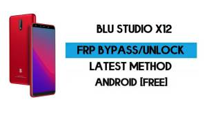 BLU Studio X12 FRP Bypass – Unlock Google GMAIL Verification (Android 10 Go) – Without PC