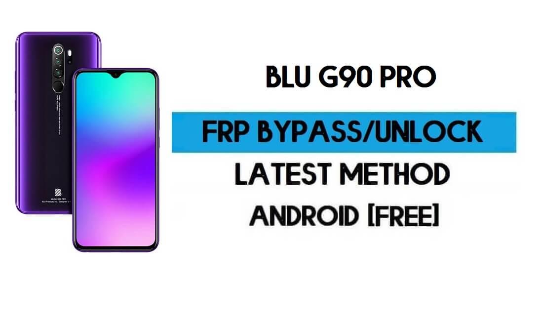 Unlock FRP Blu G90 Pro - Bypass Google Gmail Lock Free Android 10