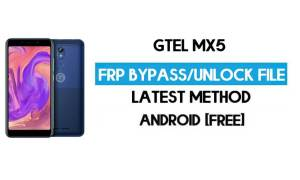 GTel MX5 FRP Bypass – Unlock Google Verification (Android 8.1 Go) [Without PC]