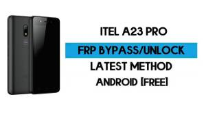 ITel A23 Pro FRP Bypass Without PC - Unlock Google Gmail Android 10