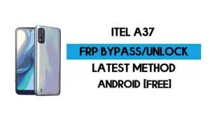 ITel A37 FRP Bypass Without PC - Unlock Google Gmail Lock Android 10