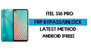 ITel S16 Pro FRP Bypass – Unlock Google GMAIL Verification (Android 10 Go) – Without PC