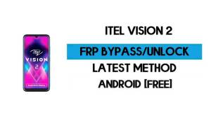 ITel Vision 2 FRP Bypass Without PC - Unlock Google Gmail Android 10