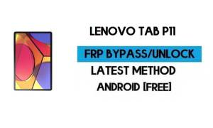 Lenovo Tab P11 FRP Lock Bypass – Unlock Google GMAIL [Android 10]