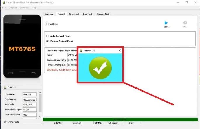 Vivo, Realme Pattern FRP unlock SP Flash Tool