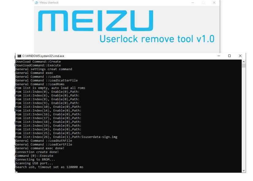 Meizu Userlock Remove Tool to Unlock