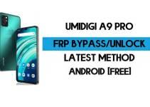 FRP Bypass UMiDIGI A9 Pro – Unlock Google GMAIL Verification (Android 10) – Without PC