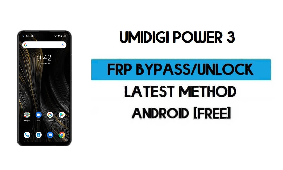 UMiDIGI Power 3 FRP Bypass Without PC - Unlock Gmail lock Android 10