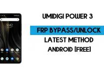 UMiDIGI Power 3 FRP Bypass – Unlock Google GMAIL Verification (Android 10) – Without PC