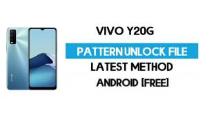 Vivo Y20G V2037 Pattern Unlock File (Remove Screen Lock) Without AUTH - SP Flash Tool