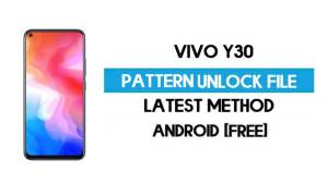Vivo Y30 (1938) Pattern Unlock File - Remove Without Auth - SP flash Tool